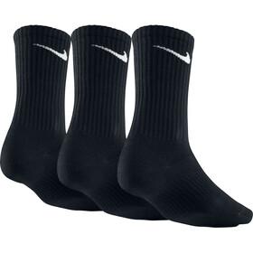 Nike Lightweight Crew Socks Unisex 3-Pack black/white